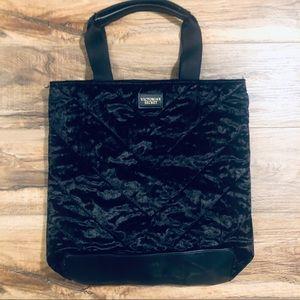 Victoria's Secret large black tote bag NWOT